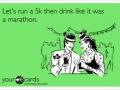 Drink marathon